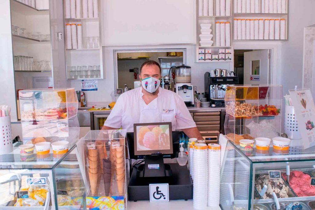 heladería en Fuengirola